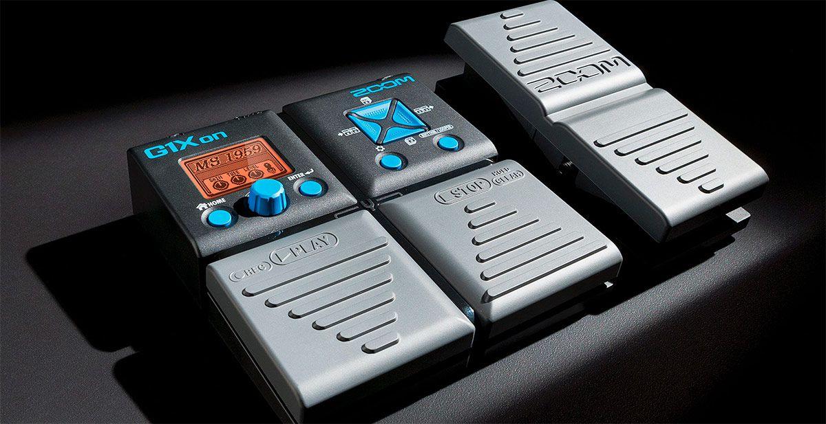 Pedaleira Zoom G1xOn P/ Guitarra Multi Efeitos - Na Caixa NF