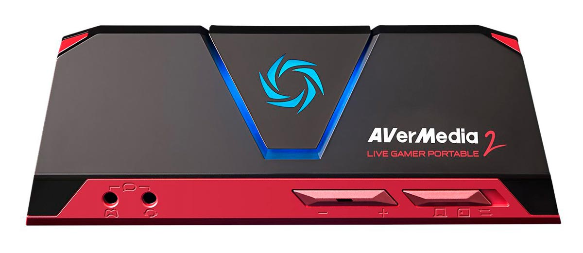 Placa Avermedia Live Gamer Portable 2 1080p 60fps SD Card Streaming - GC510
