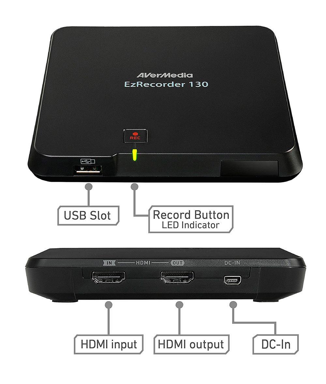 Placa Captura Avermedia EzRecorder 130 Full HD - ER130
