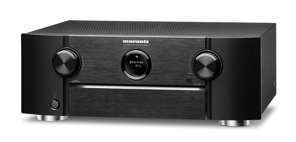 Receiver Marantz SR6012 9.2 Canais 4K Ultra HD Bluetooth WiFi Airplay Heos Dolby Atmos