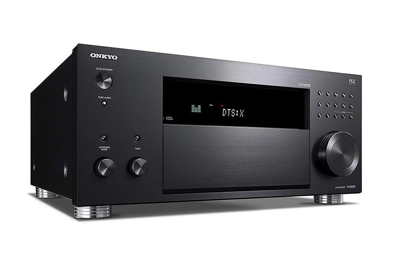 Receiver Onkyo TX-RZ820 7.2 Canais WiFi AirPlay Bluetooth Phono THX