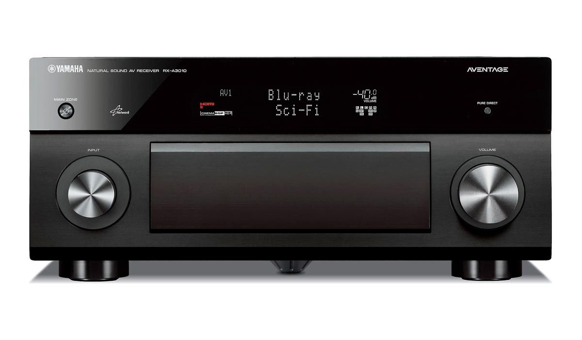 Receiver Yamaha Rx-A3010 9.2 Canais HDMI USB Phono In 1300w