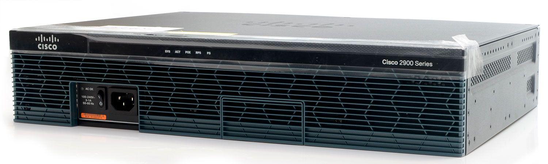 Roteador Cisco 2911 CISCO911/K9 V06 - Novo - NF