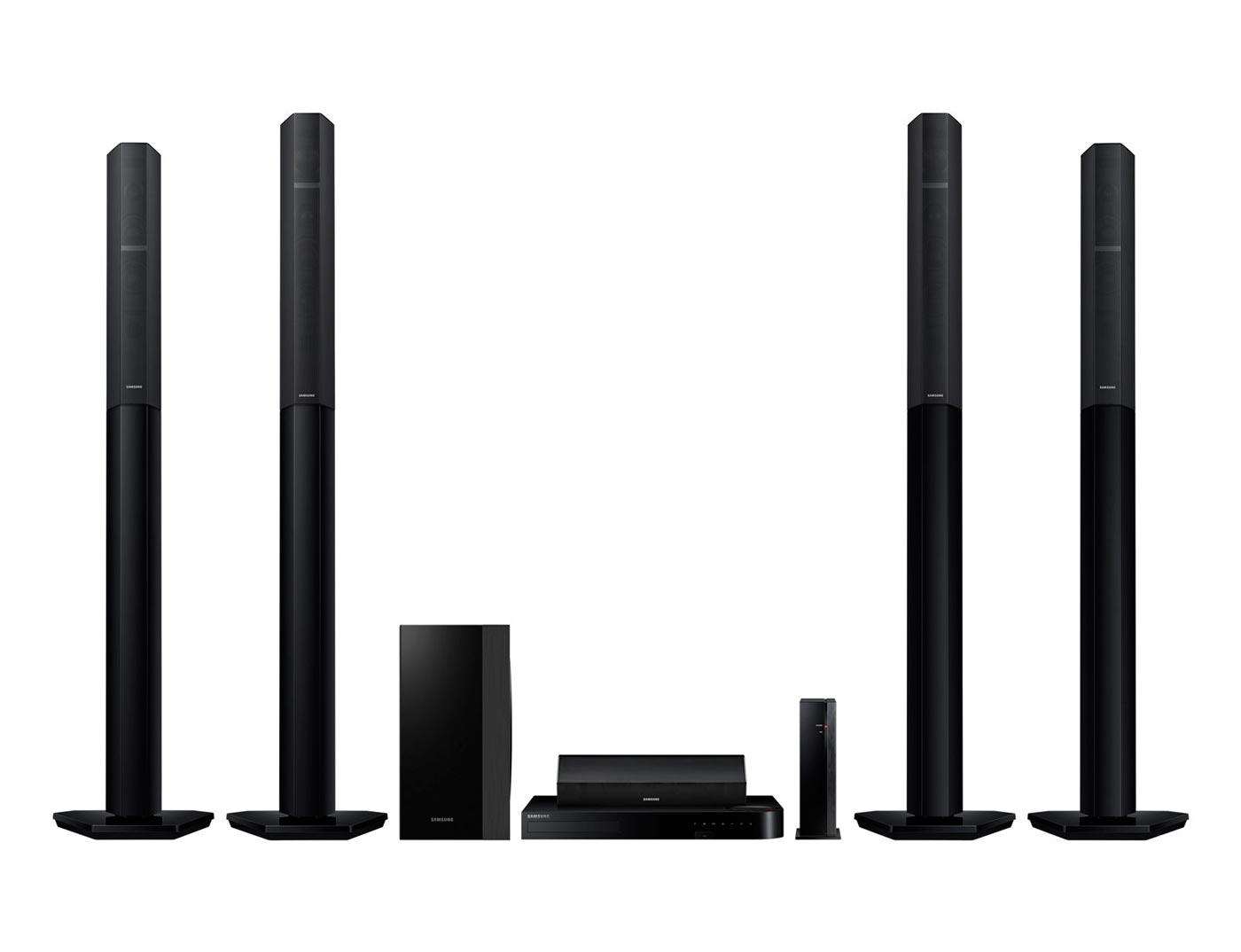 Sistema Home Theater Blu-ray 3D 7.1Ch Samsung HT-H7750WM - Pré-amplificador Valvulado - 1330W - Bluetooth