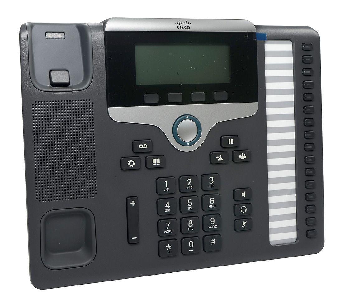 Telefone VoIP CISCO - CP-7861-K9 - 6 Linhas - Na Caixa - NF