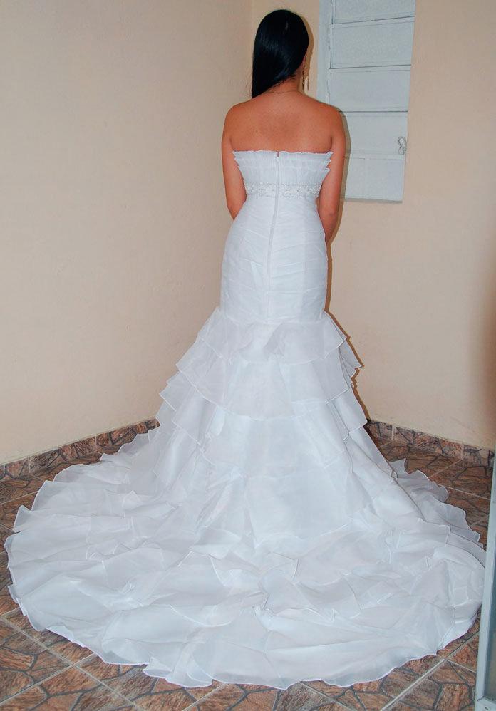 Vestido Noiva Tomara Que Caia Casamento Pronta Entrega Modv4