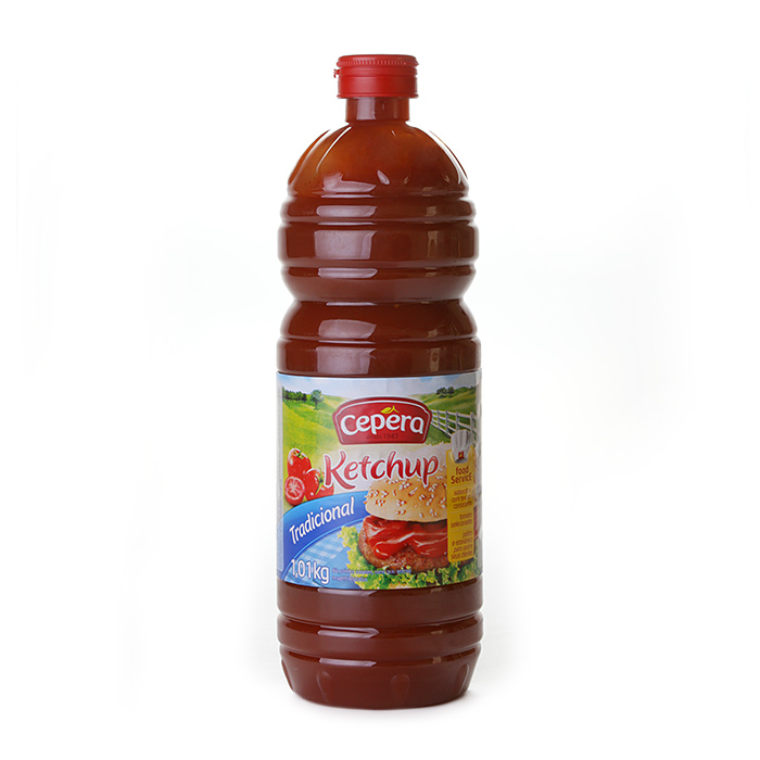 CATCHUP CEPERA FRASCO PET 1.01KG (COD. 19692)  - Chef Distribuidora