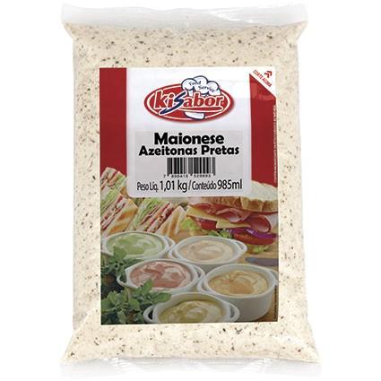 MAIONESE DE AZEITONAS PRETAS KI SABOR 1,02 KG (COD. 13557)  - Chef Distribuidora