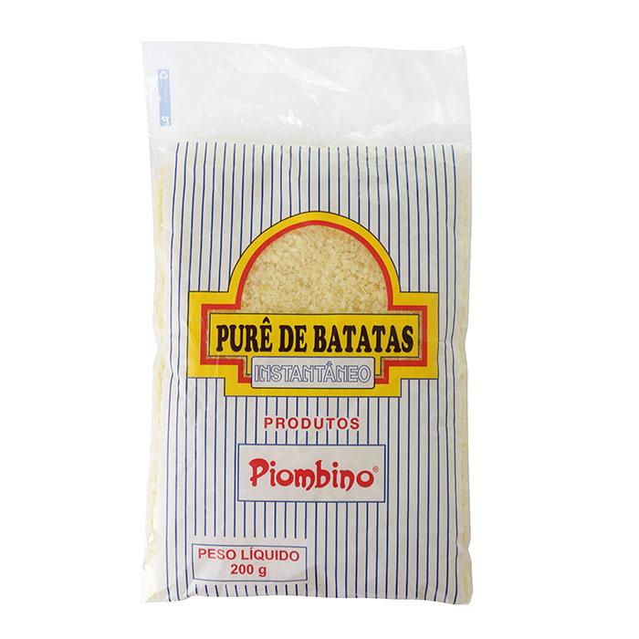 PURÊ DE BATATA INSTANTANEO BAMBINI (PEQ.) 200g 1 Pcte (COD. 330)  - Chef Distribuidora
