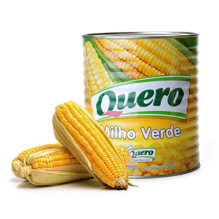 MILHO VERDE QUERO 2 Kg 1 Lata (COD. 586)  - Chef Distribuidora