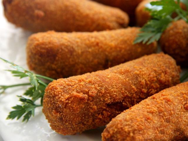 MINI CROQUETE DE CARNE 45g PACOTE 30 Unidades (COD. 2919)  - Chef Distribuidora