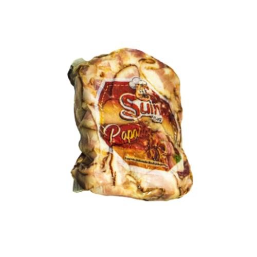 BACON FATIADO PAPADA SUIN SILVA. PCTE 2 KG. (COD 10636)  - Chef Distribuidora