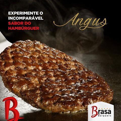 HAMBURGUER BOVINO ANGUS BRASA BURGUERS 120G 3.6 Kg CX 30 Unidades (C0D 19600)  - Chef Distribuidora