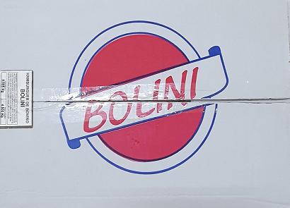 HAMBURGUER BOVINO BOLINI 90G  CX C/ 60 UNIDADES (COD. 308888)  - Chef Distribuidora