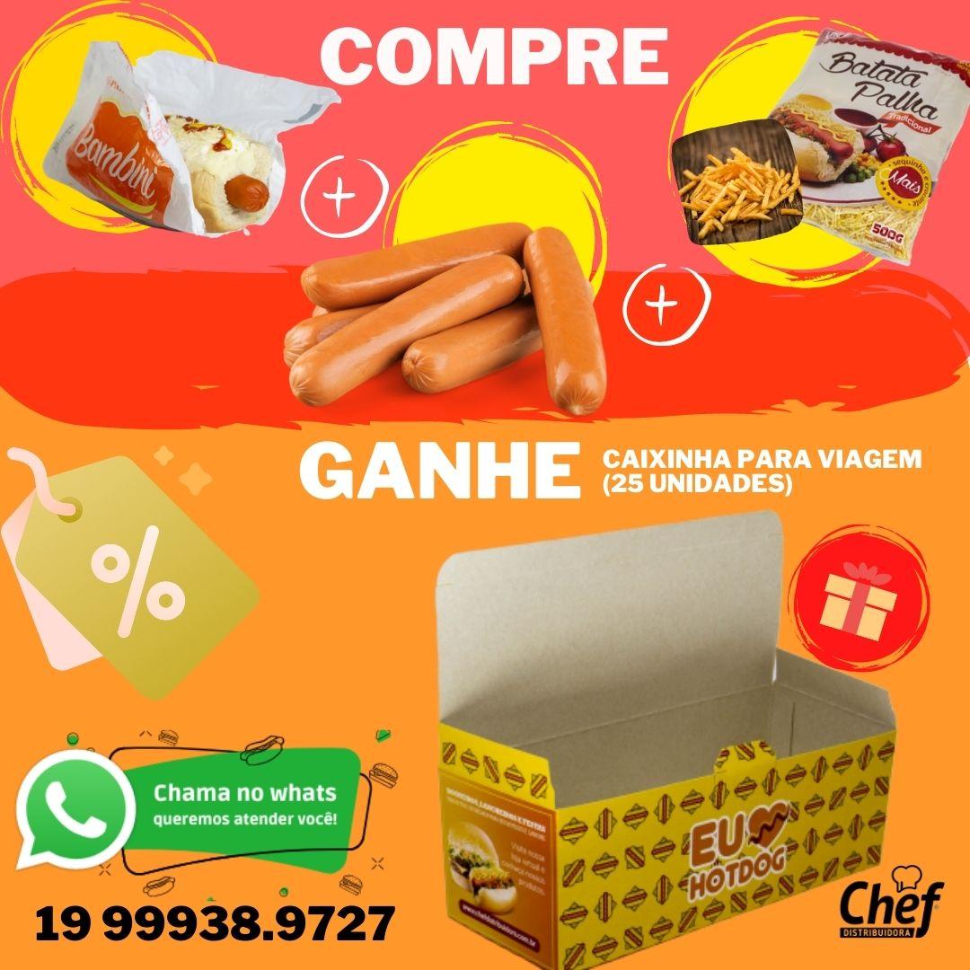 KIT CACHORRO-QUENTE (COD.2021)  - Chef Distribuidora
