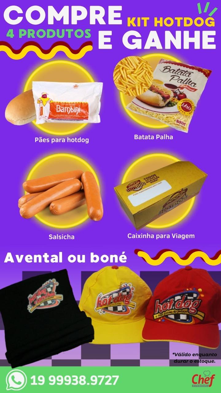 KIT HOT DOG (Cod. 2023)  - Chef Distribuidora