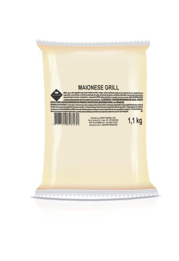 MAIONESE GRILL JUNIOR (BAG) 1,1 KG (COD. 19559)  - Chef Distribuidora