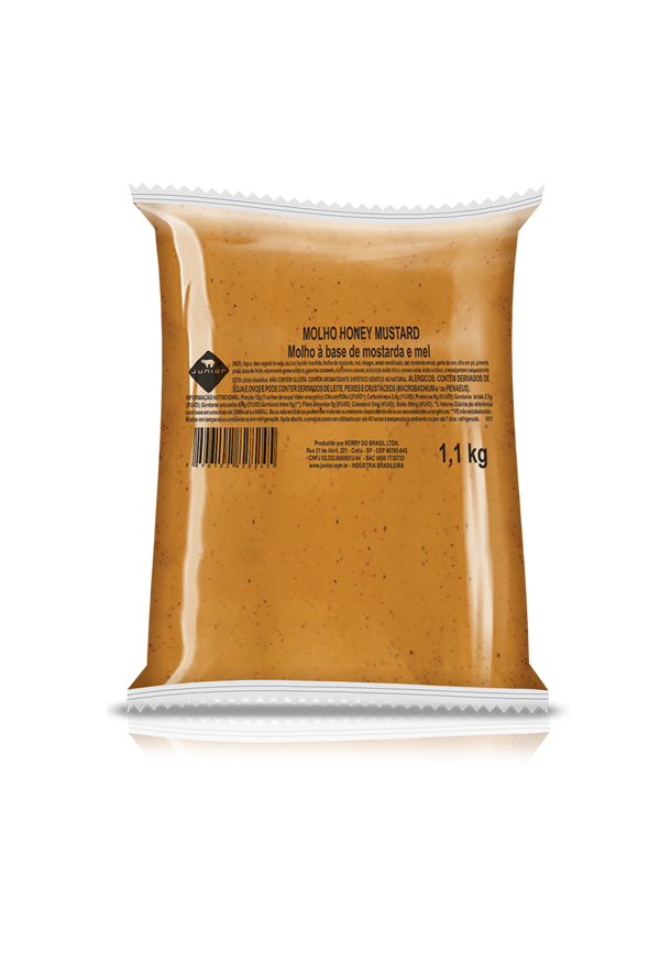 MOLHO HONEY MUSTARD JUNIOR (BAG) 1,1 KG (COD. 19560)  - Chef Distribuidora