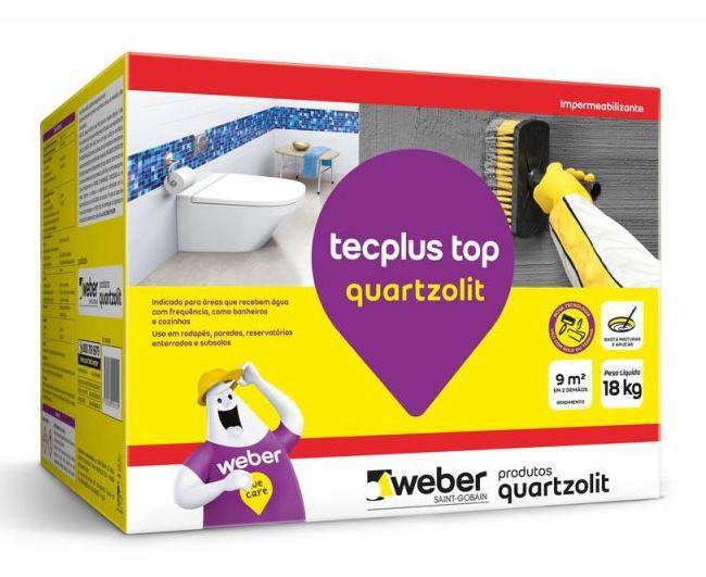 Impermeabilizante Quartzolit Tecplus Top 18kg