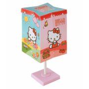 Abajur Infantil Quadrado Hello Kitty Bivolt Startec