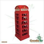 Adega Madeira Cabine Telefônica Goods Br