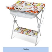 Banheira Infantil Luxo Rígida Girafas Galzerano