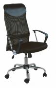 Cadeira Presidente Preta Bulk