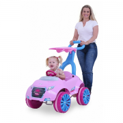 Carro Xrover a Pedal Meninas com Empurrador Xalingo