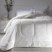 Cobertor Casal Branco Extra Macio Duoblanket Kacyumara