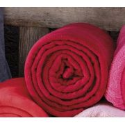 Cobertor Manta Casamara 150X220 Bordô Solteiro Kacyumara