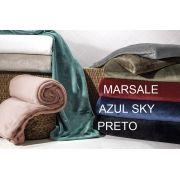 Cobertor Manta Preto King Blanket Kacyumara