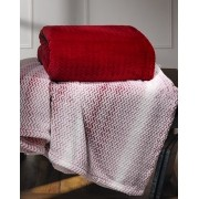Cobertor Plush Tweed Queen 130x160 Sicilia Laca Hedrons