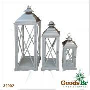 Conjunto 3 Lanternas Branca Goods Br