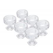 Conjunto de Tigelas 300ml Prima Luxo Cristal Lyor