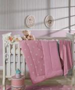 Edredom Plush/Malha Baby Bela 1,00x1,10 cm Hedrons
