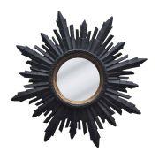 Espelho Decorativo Ostia Madeira 70cm Btc Decor