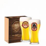 Jogo Copos Cerveja Athenas Decorado 300ml 2 Peças Ruvolo