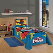 Jogo de Cama Solteiro 2 Peças Spider-Man 1,50x2,10 Lepper