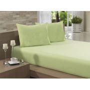 Lençol Avulso Queen Especial 235x275 Verde Claro Soft
