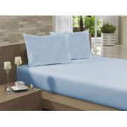 c2713ed162 Lençol Avulso Solteiro Especial 165x270 Azul Claro Soft