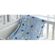 Manta Microfibra Infantil 90x110cm Glorius Baby Estampa Toys Corttex
