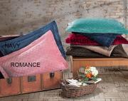 Porta Travesseiro Plush Inove Liso Matelassado 50 x 70 cm Malbec Hedrons