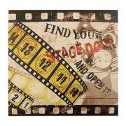 Quadro Decorativo 40x40cm Movies Stage Door Goods