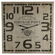 Relógio de Parede Decorativo Vintage 60cm Btc Decor