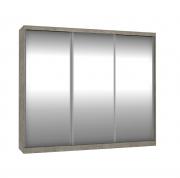 Roupeiro 3 Portas Com Espelho de Correr 2,64m Demolição Foscarini
