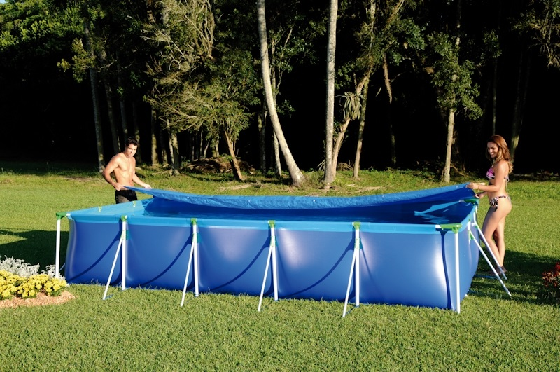 Forro para piscina 10000 litros mor for Piscina 50000 litros