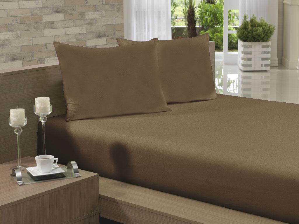 ad22d44d40 Lençol Avulso Kingsize Extra 280x290 Chocolate Soft - Lojas Cerentini -  Casa Decor