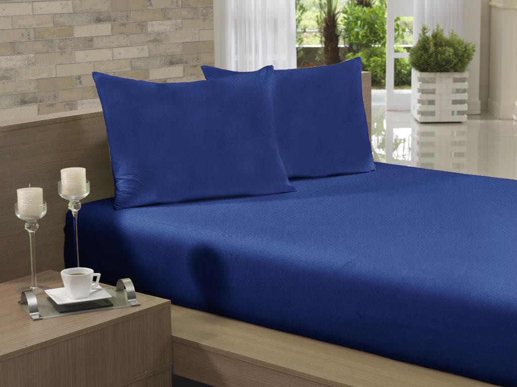 142fa1c92b Lençol Avulso Solteiro Especial 165x270 Azul Jeans Soft - Lojas Cerentini -  Casa Decor