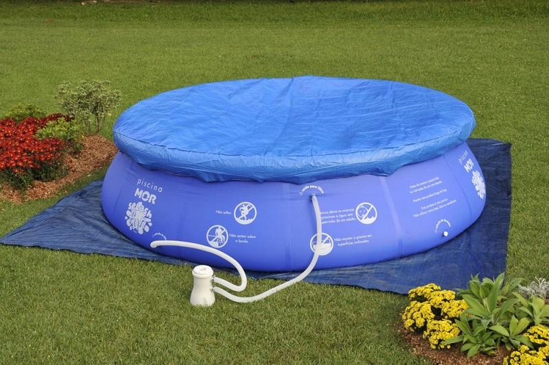 Piscina infl vel 9000 litros combo escada capa forro e for Calcular litros piscina