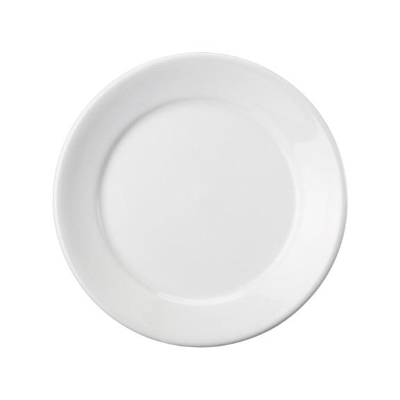 Prato Raso 24cm Linha Convencional Branco Porcelana Schmidt
